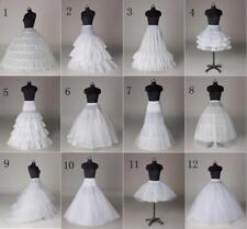 All Kinds Of A-Line/Hoop/Hoopless/Short Crinoline Petticoat/Underskirt wedding