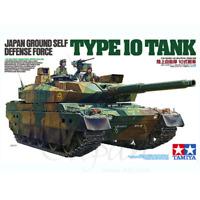 Tamiya 36209 Japan Ground Self Defense Force Type 10 Tank (Display Model) 1/16
