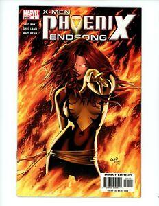 X-Men Phoenix Endsong #1 2005 VF Jean Grey as the Phoenix!