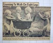 1949 Intrepid Good Quads Bristol Learning To Walk On Eight Legs