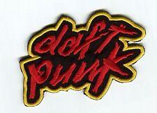 Daft Punk Patch Embroidered Badge Music Logo Costume Cosplay Souvenir Bag Hatf