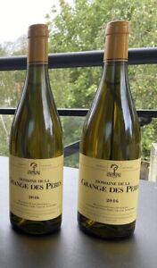 2 Bouteilles vin blanc Grange des Pères 2016