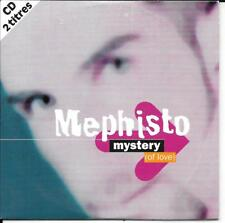 CD SINGLE 2 TITRES--MEPHISTO--MYSTERY OF LOVE--1997
