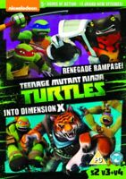 Nuevo Tmnt Teenage Mutant Ninja Turtles - Renegade/Into Dimension X DVD