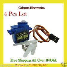 4 Pcs Lot Tower Pro SG90 Mini 9g Gear Micro Digital Servo Motor