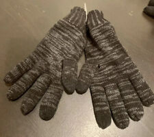 New Thick Warm Express Black Men's One Size Touchscreen Compatible Winter Gloves