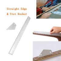 Pro Designed Guitar Neck Notched Straight Edge And Fret Rocker Luthier Tools KIT