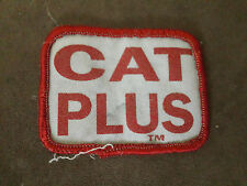 CAT PLUS Tractor Caterpillar  Patch Applique Badge Sew On Decoration