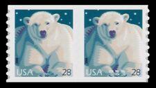 Polar Bear Pair 4389 American Wildlife Issue 28c Self-Adhesive 2009 MNH -Buy Now