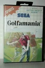 GOLFMANIA GIOCO USATO SEGA MASTER SYSTEM EDIZIONE ITALIANA GD1 42626