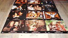 L ' HOMME AU MASQUE DE FER ! dicaprio jeu 12 photos cinema lobby cards