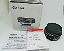 Canon Ef-S 9522B002 24mm f/2.8 Stm Pancake Lens New Boxed