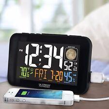 Alarm Clock Black Digital