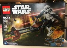 Lego Star Wars 75532 Scout Trooper & Speeder Bike Buildable Figures New