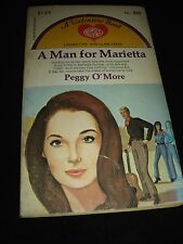 "A Man for Marietta by Peggy O""More A Valentine Easy-Eye Romance PB Book 1955"