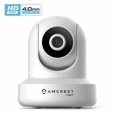 Amcrest ProHD White 1080P HD WiFi Wireless IP Home Network Security Camera V3