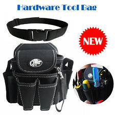 Utility Pouch Hardware Mechanic's Electrician Tool Bag for Driver Pliers Meter