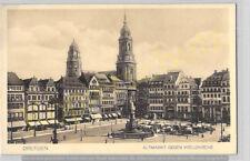 AK Dresden Altmarkt Kreuzkirche Foto vor 1945 ungelaufen