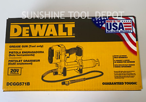 Dewalt DCGG571B 20V MAX Grease Gun (Tool Only)