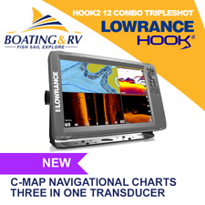 Lowrance Hook2 12 Combo Tripleshot + Transducer + Maps + Accessories + Free Post