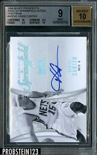 2008-09 Hot Prospects Road To Springfield Vince Carter 1/1 Masterpiece BGS 9 /10