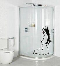 Woman Wall Stickers Waterproof Shower Screen Naked Stiker Bathroom