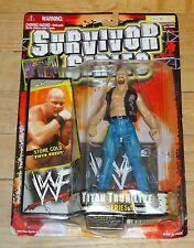 1999 WWF WWE Jakks Stone Cold Steve Austin Titan Tron Wrestling figure MOC NWA