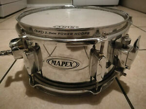 """Mapex 10"""" x 5.5"""" Steel Snare Drum - Collection Only"""
