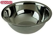 Apollo Stainless Steel Mixing Bowl  29Cm Kitchen Food Prepware Utility Home New