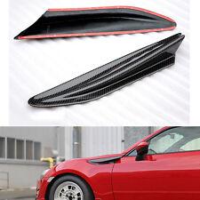 Carbon Fiber Car Front Fender Canard Strips Kits For Subaru BRZ Toyota FT86 GT86