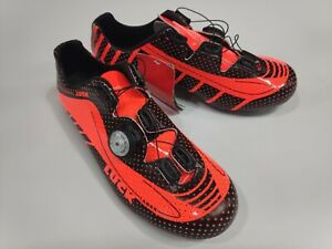 Luck Genius Road Cycling shoes Made in Spain carbon fibre sole ventilation