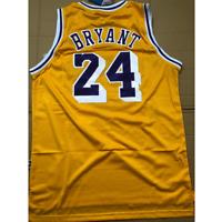 #24Kobe Bryant Los Angeles Lakers Yellow Classics Swingman Basketball Jersey