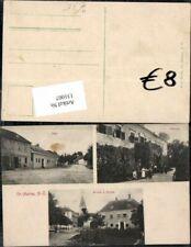 131007,Gross Harras Großharras bei Mistelbach Pulkau Schule Kirche Platz 1900