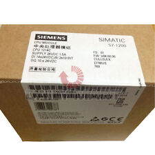 New in Box Siemens 6ES7 214-1AG40-0XB0 Simatic S7-1200 CPU 1214C Compact 100KB