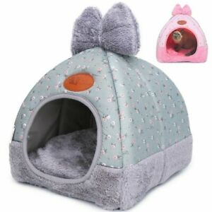 Beds for Small Pet Cat Bed Dogs Beds Nest House for Dog Sofa Warming Dogs House