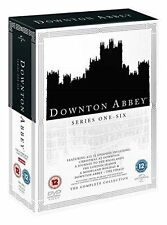 Downton Abbey The Complete Collection 5053083096823 With Maggie Smith Region 2