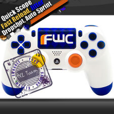 PS4 CUSTOM FWC RAPID FIRE MODDED CONTROLLER BF4 COD AW BLACK OPS 3