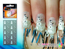 SmART-Nails - Snow Man Art Stencils NDS0003 Professional Nail Product