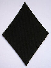 BLACK DIAMOND POKER PLAYING CARD Embroidered Iron on Patch Free Postage