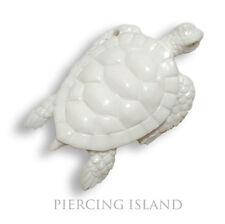 Schildkröte Amulett Anhänger Knochen Maori Turtle PB062
