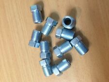 "BRAKE PIPE TUBE NUTS 3/8 X 24 "" THREAD TO SUIT 3/16"" BRAKE PIPE - 10 PACK -"