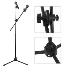 High Quality Professional Boom Microphone Mic Stand Holder Adjustable Black UK