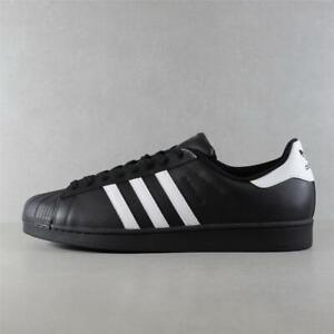 Mens adidas Originals Superstar Black/Wh Trainers (50C24) RRP £79.99 BIG SIZES!!