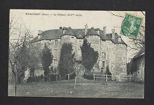 HARCOURT (27) CHATEAU du XIV° Siécle , cliché en 1908