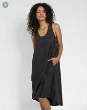 Fat Face Lola Linen Dress - Black-Phantom - Size UK 8 - RRP £59