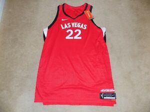 WNBA Authentic Nike Las Vegas Aces A'Ja Wilson 2021 Jersey Size 50 $250