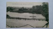 Vintage Péronne, Somme France B&W 1927 Postcard Les Etangs de la Haute-Somme