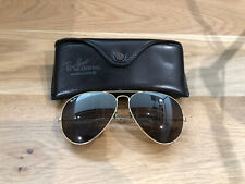 Vintage Ray Ban Aviators B&L Sunglasses Bausch&Lomb USA 62[]14  B15 Mirrored VGC