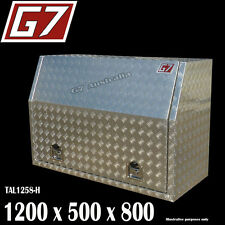 1200x530x820 Aluminium toolbox ute checker plate tool box truck storage 1258FD 2