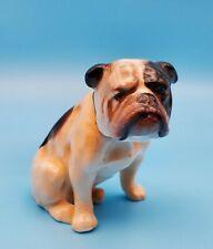 Vintage Rare Royal Doulton English Bulldog Figurine K1 England ~ misprint?